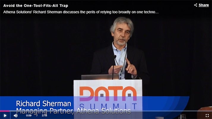 Rick Sherman at Data Summit 2018